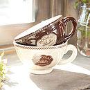 Caffe Latte Mugs & Bowls
