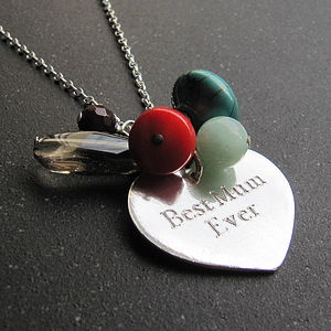 Silver Heart Tag Necklace - necklaces & pendants