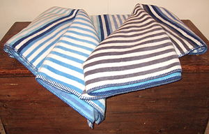 Stripes Blanket - throws, blankets & fabric