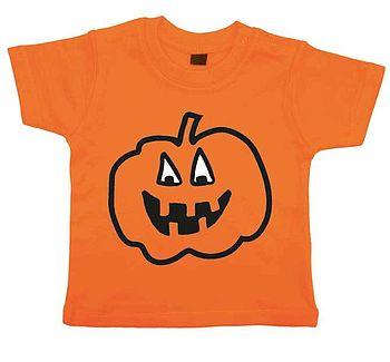 Child's Pumpkin T Shirt