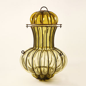 Recycled Glass Lantern - lights & lanterns