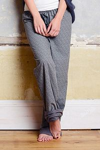 Forget Me Not Organic Jersey Lined Loungepant - women's fashion