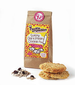 Sunny Oat And Raisin Cookie Mix - make your own kits