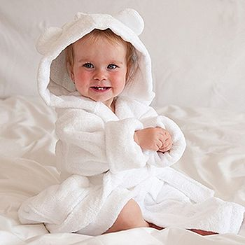 Child's Organic Bath Robe