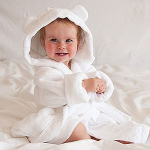 Child's Organic Bath Robe - bathtime