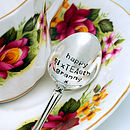 Personalised 'Happy Birthtea' Tea Spoon