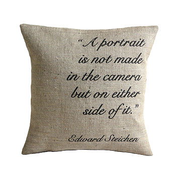 Personalised Quote Poem Cushion Cover