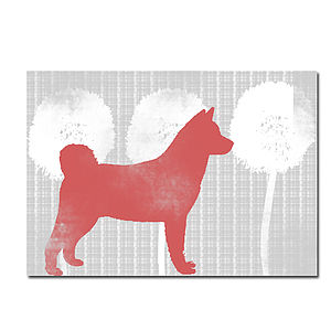 Akita Dog Illustration - home accessories