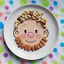 Mrs Food Face Kids Plate