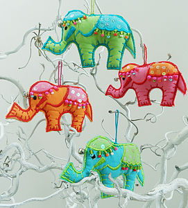 Elephant Tree Hanging Decoration