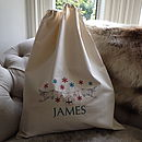 Embroidered Christmas Sack Extra Large