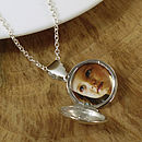Solid Silver Round Locket