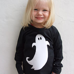 Halloween Ghost T Shirt - clothing