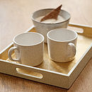 Small Lacquered Drinks Tray