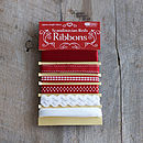 Six Scandi Ribbons