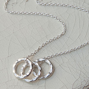 Silver Circles Necklace - necklaces & pendants