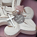 Personalised Silver Spirit Necklace