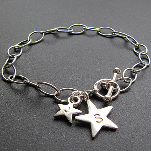 Silver Star Bracelet - children's jewellery