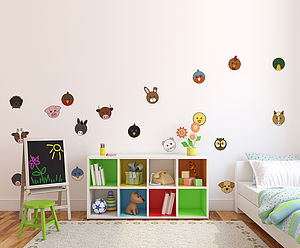 Animaru Character Pack One Wall Stickers - wall stickers