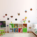 Animaru Character Pack One Wall Stickers
