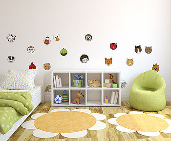 Animaru Character Pack Two Wall Sticker