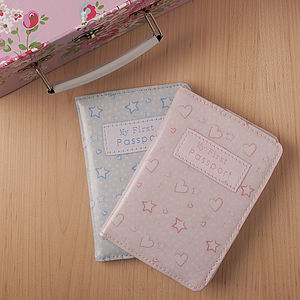 First Passport Cover - children's accessories