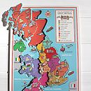 Jigsaw Map Of The United Kingdom