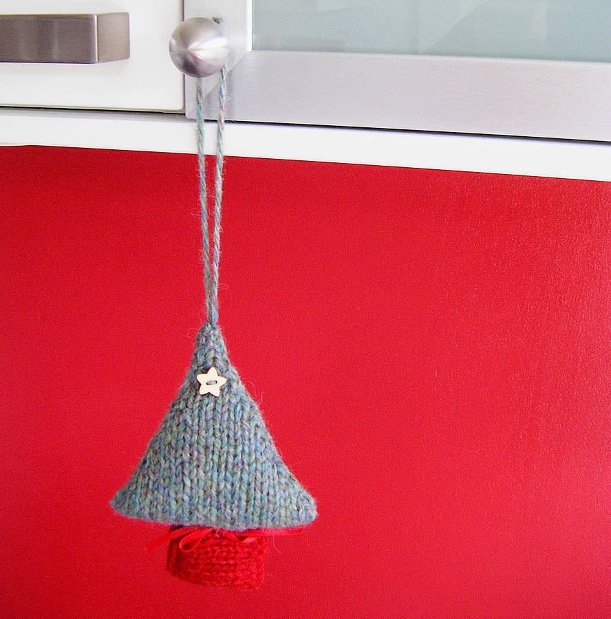 Christmas Tree Decoration Knitting Kit By My Baboo ...