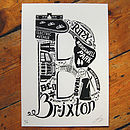 Best Of Brixton Screen Print