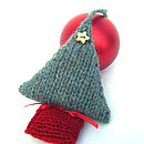 Christmas Tree Decoration Knitting Kit