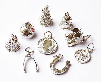 'Nine' Luxury Christmas Pudding Charms