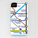 London Tube Map On IPhone Case