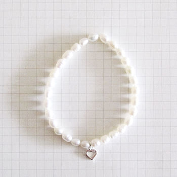 Pearl Bracelet 'Arithmetic Of Love'