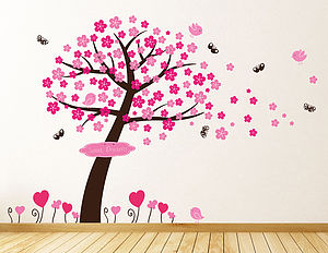 Princess Blossom Tree Wall Stickers - wall stickers