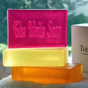 Personalised Bath Soap