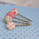 Button Beau Hair Clip Set 2