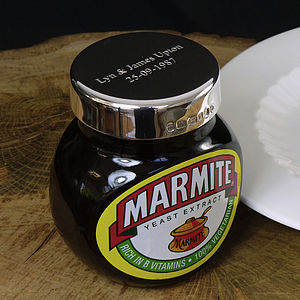 Silver Lid for Marmite - kitchen