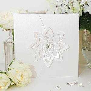 Floravita Wedding Invitation