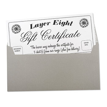 Layer Eight Gift Certificate