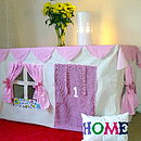 Cottage Style Table Play Tent