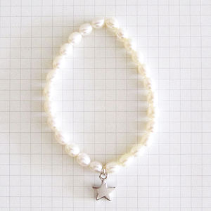 Bridesmaid Gift Pearl Bracelet