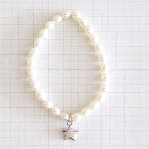 'Shining Star' Pearl Bracelet