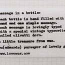 Message Bottle Personalised Necklace