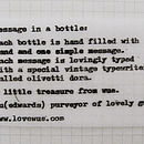 Message Bottle Necklace Love Me