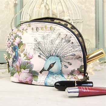 The Aviary Make Up Bag