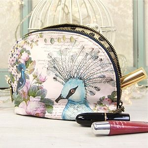 The Aviary Make Up Bag - make-up bags