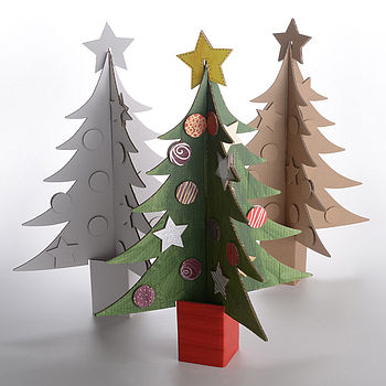 Paint Your Own Christmas Tree