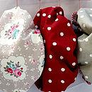 Cotton Shower Caps Vintage Inspired