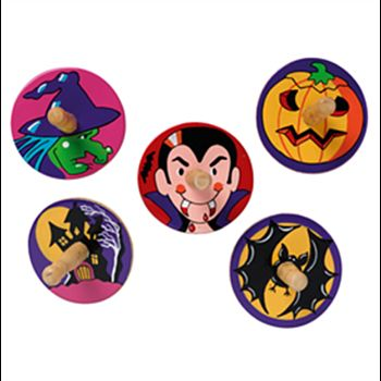 Halloween Spinning Tops