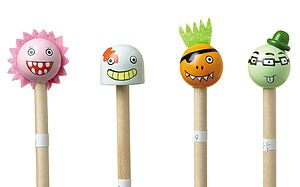 Halloween Pencils - traditional toys & games